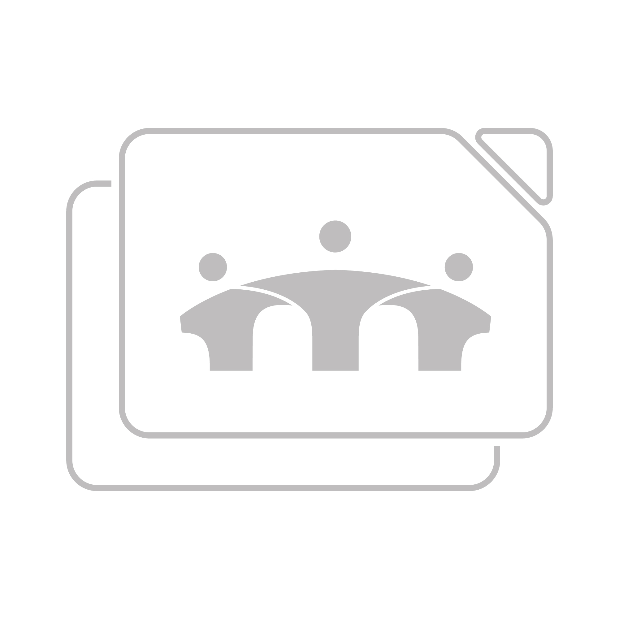 B-Tech Professional Small AV Accessory Shelf - 300 x 300mm