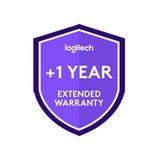 Logitech One year extended warranty for Logitech medium room solution with Rally Bar and Tap